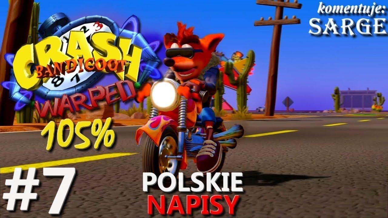 Zagrajmy w Crash Bandicoot 3 PS4 Remake (105%) odc. 7 – Walka z Cortexem | napisy PL | 1440p