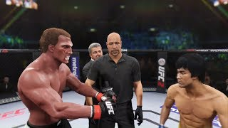 Faceless vs. Bruce Lee (EA Sports UFC 2)