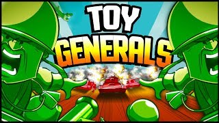 ARMY MEN vs TOY INVASION! New Green Army Men Game! - Toy Generals Gameplay