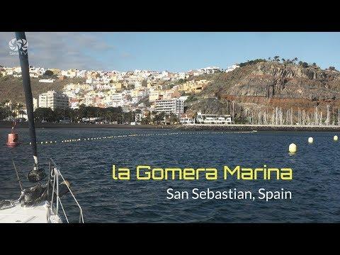 Sail spain   La Gomera Marina San Sebastian   sea tv   sailor   yacht   travel