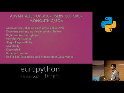 Abhishek Sharma - Pythonist view on Microservices & Containerization