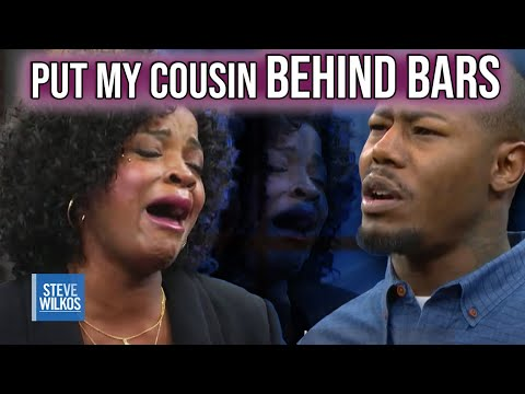 Steve Helps Send Past Guest To Jail! (The Steve Wilkos Show)