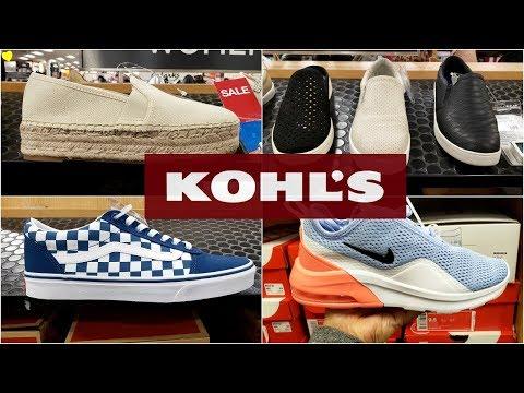 KOHL'S SHOE  SHOPPING SPRING WALK – THROUGH 2019