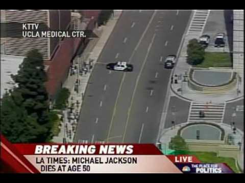 BREAKING NEWS Michael Jackson dies of heart attack at the ...
