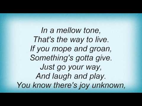 Manhattan Transfer - In A Mellow Tone Lyrics