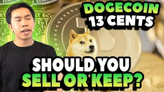 Dogecoin 12-13 Cents | Should You Sell Now Or Keep? | WARNING TO ALL INVESTORS WATCH THIS VIDEO!