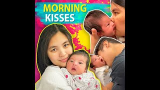 Morning kisses | KAMI | Paulina Sotto and Jed Llanes' newborn daughter