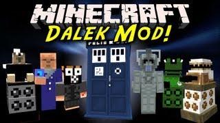 Minecraft Mod Showcase: Dalek Mod! [TARDIS, New Mobs, Bessie!]