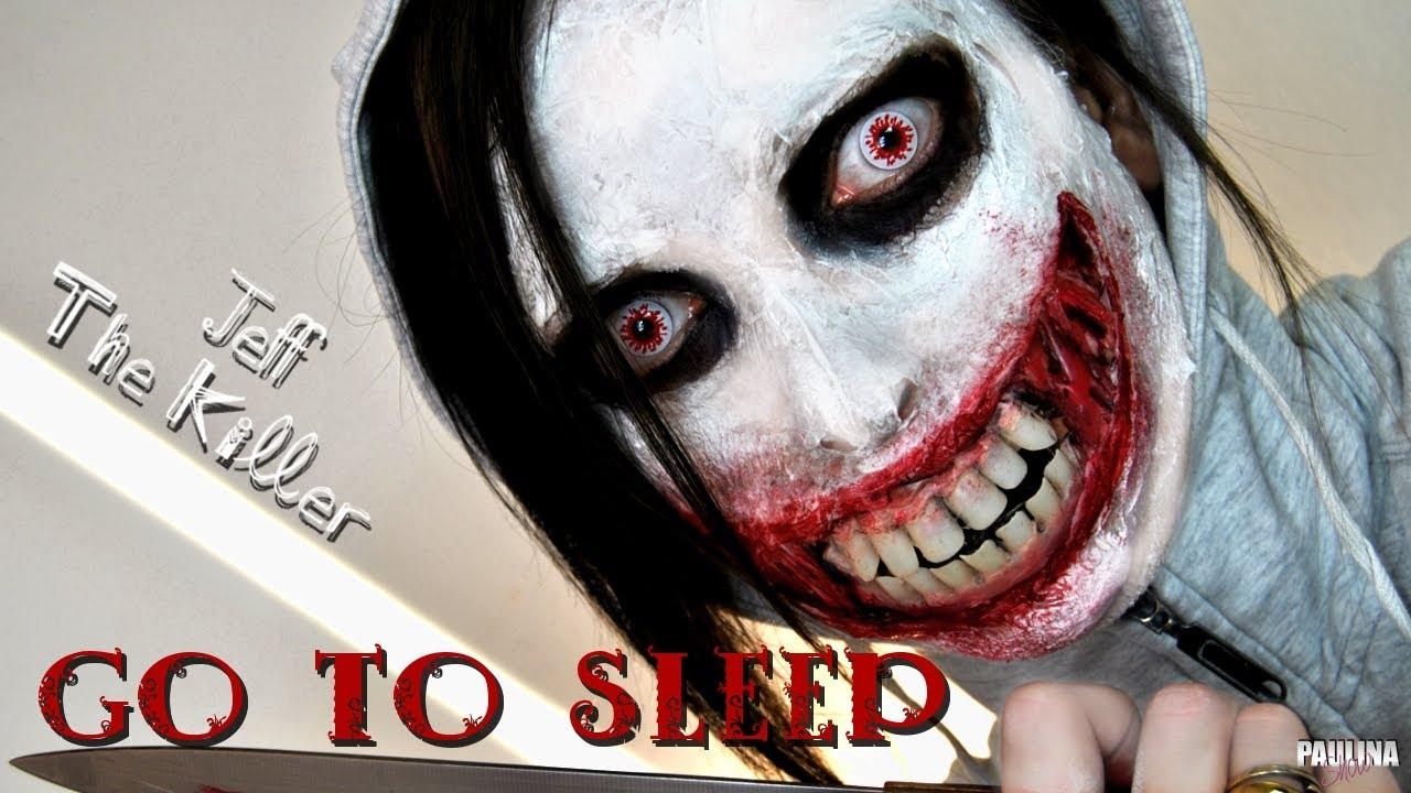 Dibujos Para Imprimir De Jeff De Killery Jane De Killer: JEFF THE KILLER Go To Sleep Creepepasta Charakteryzacja W