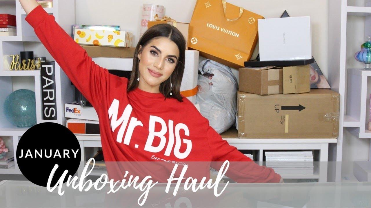 2345b13bc1e1 JANUARY 2018 UNBOXING HAUL - YouTube