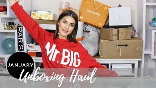 JANUARY 2018 UNBOXING HAUL