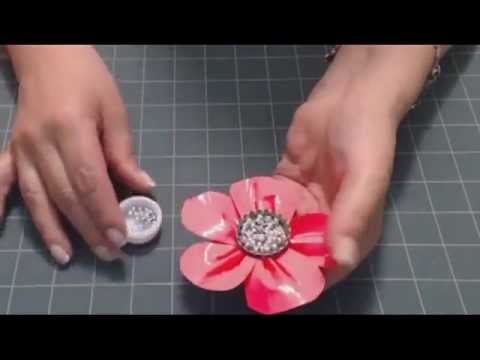 How To Make Duct Tape Flowers From Makingfriends Youtube