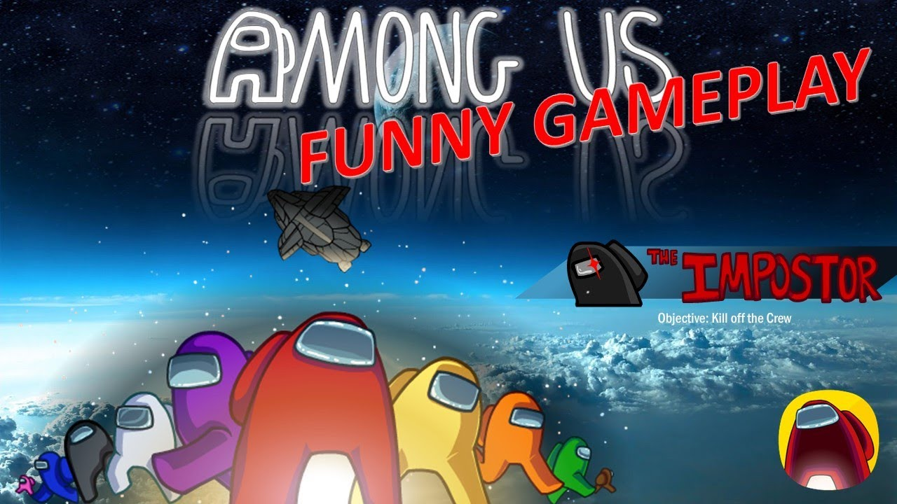 Among Us Funny Game Play Impostor Android Pc Youtube
