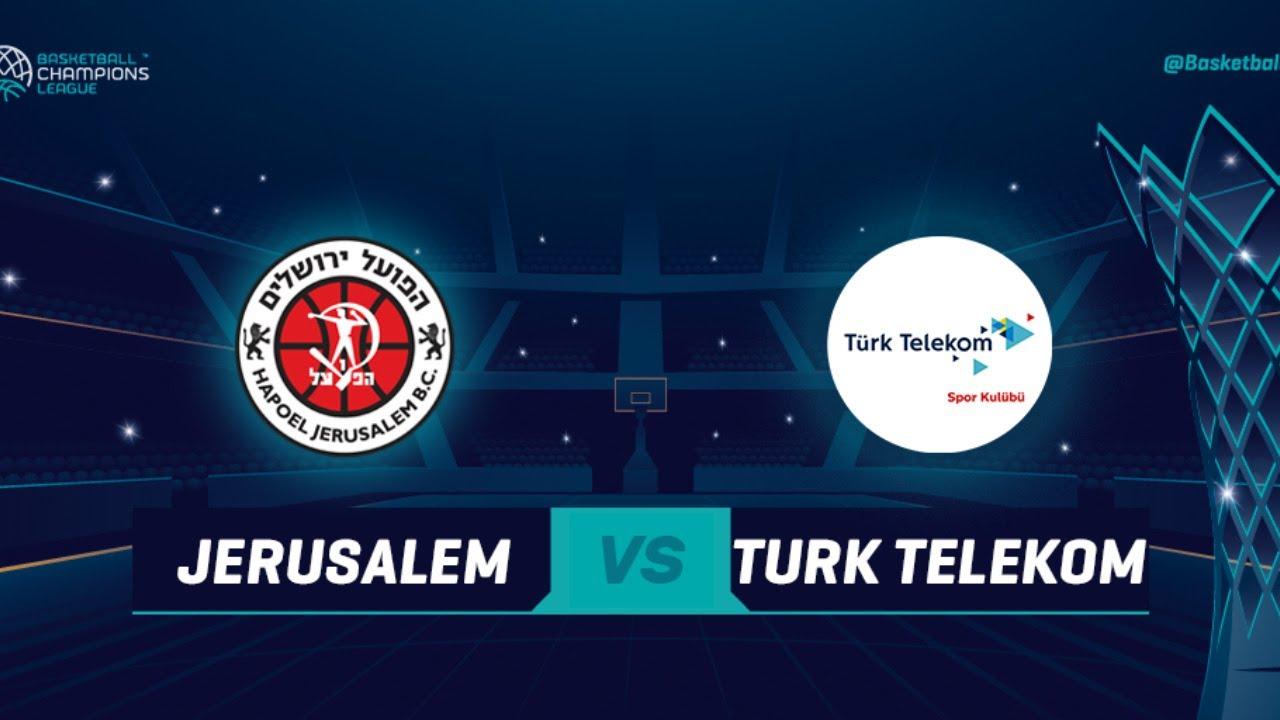 Hapoel Jerusalem v Türk Telekom - Full Game