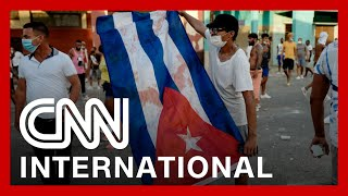 Thousands demand freedom in Cuba's largest demonstration in decades