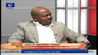 Sunrise Daily: Security Consultant Speaks On State of Emergency Debate PT2