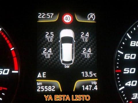 Control De Presion De Neumaticos Para Seat Leon 5f Tpms