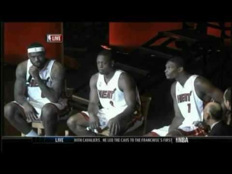 LeBron James says the Heat will win 7