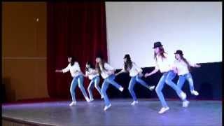 Танцевальная капель 2013, Вишневогорск, современный танец