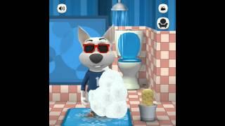 Говорящая Собака! Мой виртуальный питомец! Серия 11! Интерьер Туалета!
