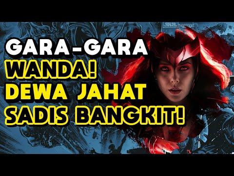 PENJELASAN WANDAVISION EPISODE 9 SCARLET WITCH BANGKITKAN DEWA JAHAT ! | BREAKDOWN CREDIT SCENE MCU