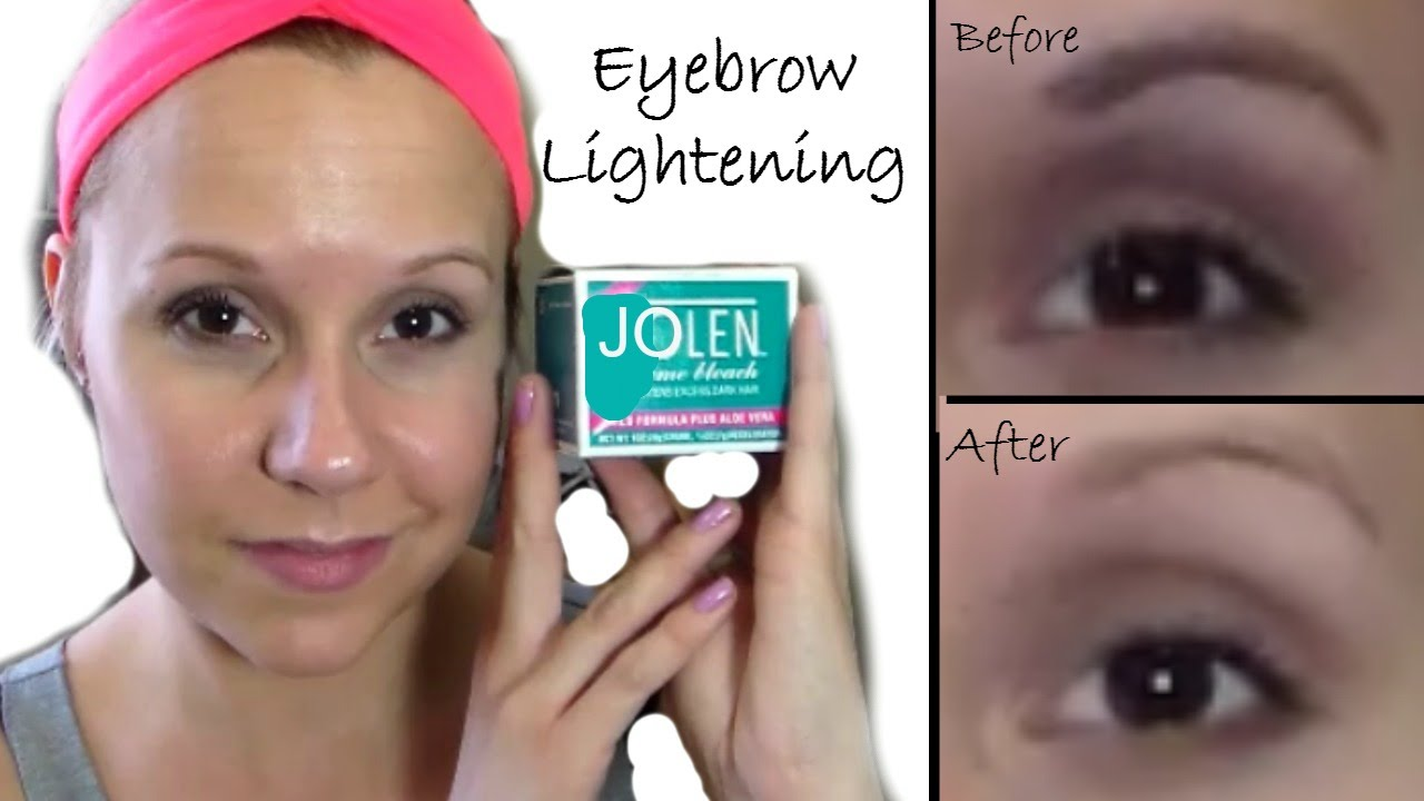 Jolen Eyebrow Lightening Kit Technique For Lightening Or Darkening