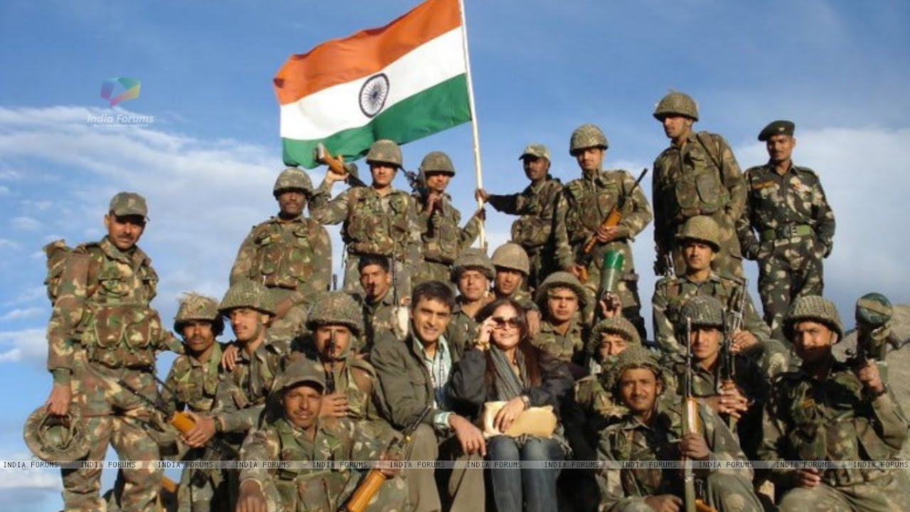 Indian Army Love Images Hd: Indian Army- Patriotic Song : Ta Ra Ram Pam Pam- By