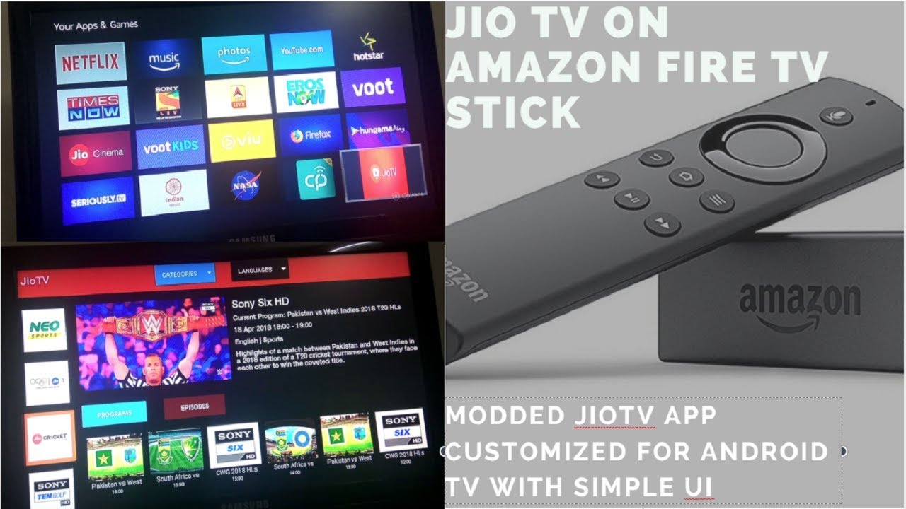 Install JioTV on Amazon FireStick : Easiest way-works with FireStick remote  and Optimized for TV