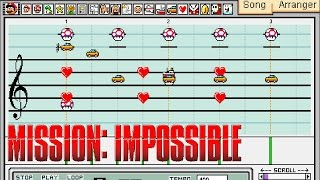 Mission Impossible Theme Song - Mario Paint