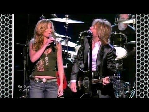 "Bon Jovi And Jennifer Nettles ""Who Says You Cant Go Home"" Live"
