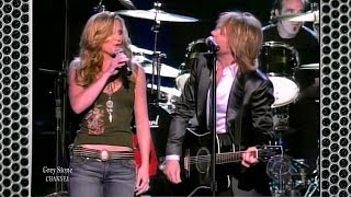 Bon Jovi and Jennifer Nettles