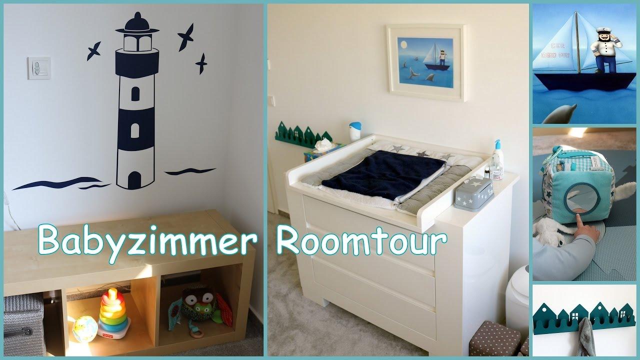 Kinderzimmer Roomtour: Marine Stil Für Baby Jungen | Gabelschereblog