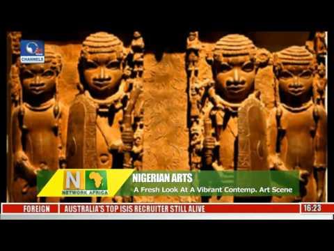 Network Africa: Art Fair 'ArtX' Showcases A Vibrant Nigerian Contemporary Art Scene