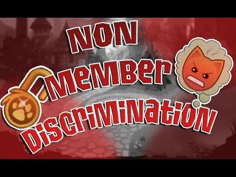 NONMEMBER DISCRIMINCATION | ANIMAL JAM