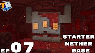 Nether Update Starter Base - Truly Bedrock Season 2 Minecraft SMP Episode 7