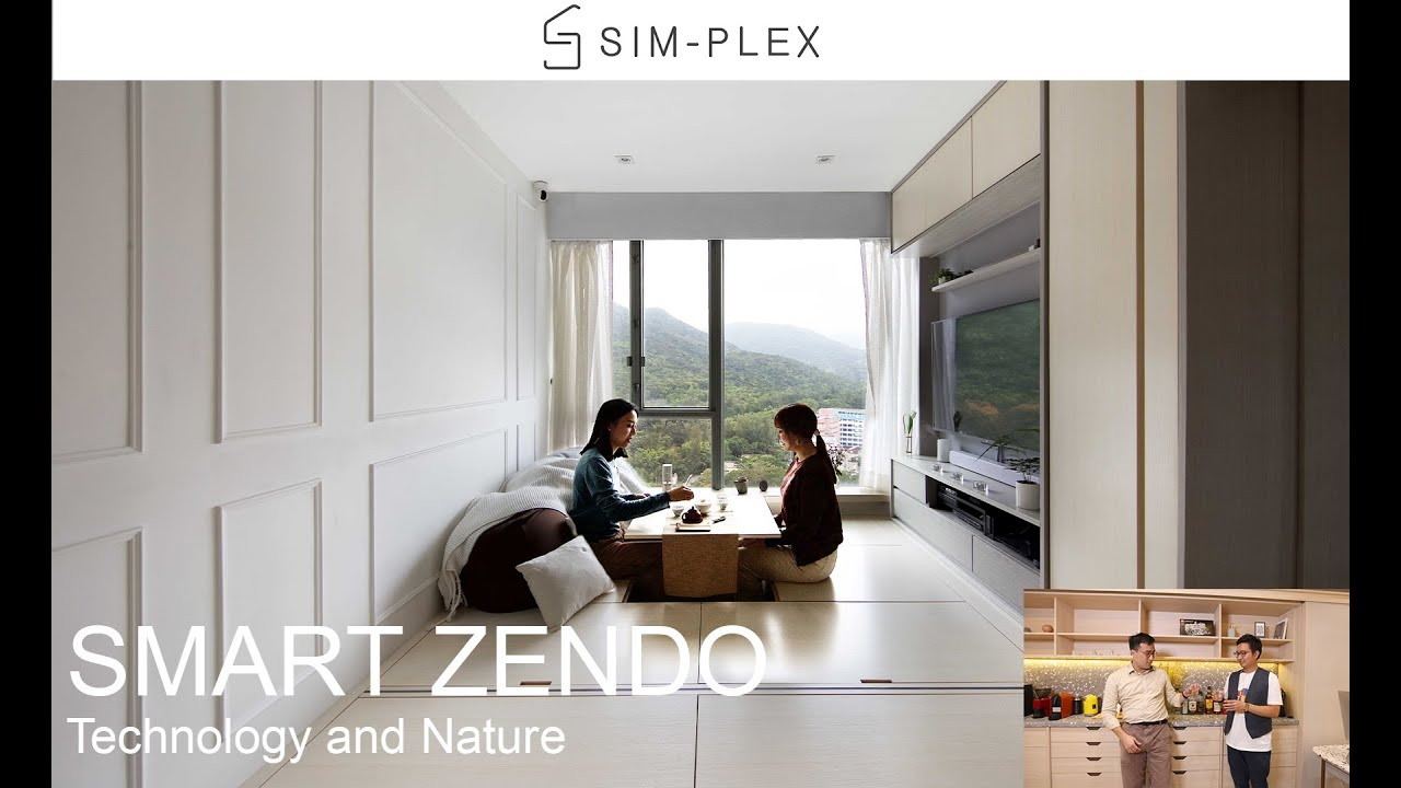 Sim-Plex Design studio: Smart Zendo (Technology and Nature)