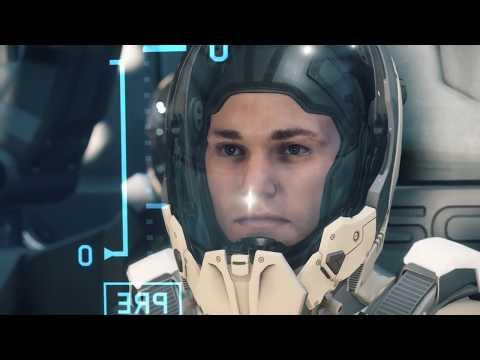 Star Citizen - Deploying P52 during warp - 1080Ti