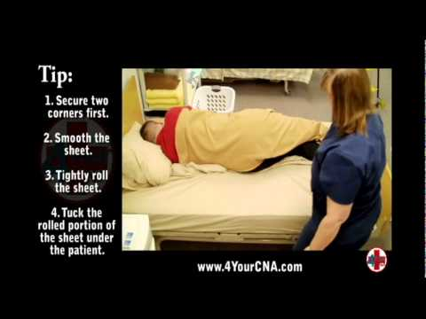 Instructional Video for Making an Occupied Bed  YouTube
