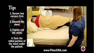 Instructional Video For Making An Occupied Bed