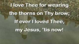 Play My Jesus I Love Thee