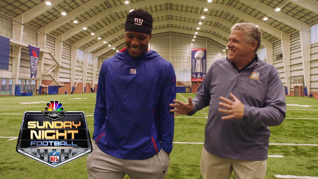 Saquon Barkley on his journey to the NFL I NBC Sports