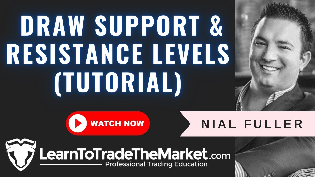 How to Draw Support and Resistance on Forex Charts ...