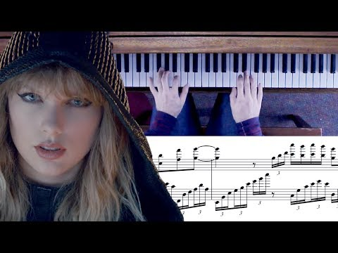 Taylor Swift - ...Ready For It? Advanced Piano Cover With Sheet Music