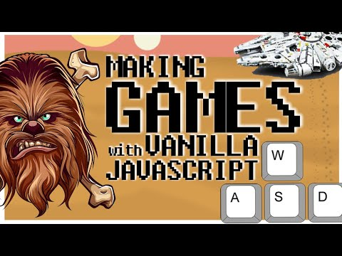 How To Make A Game With JavaScript And HTML Canvas | Keyboard Input U0026 Sprite Animation [Vanilla JS]