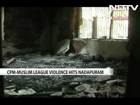 Violence and blame traded over communal tension in Kerala's Nadapuram
