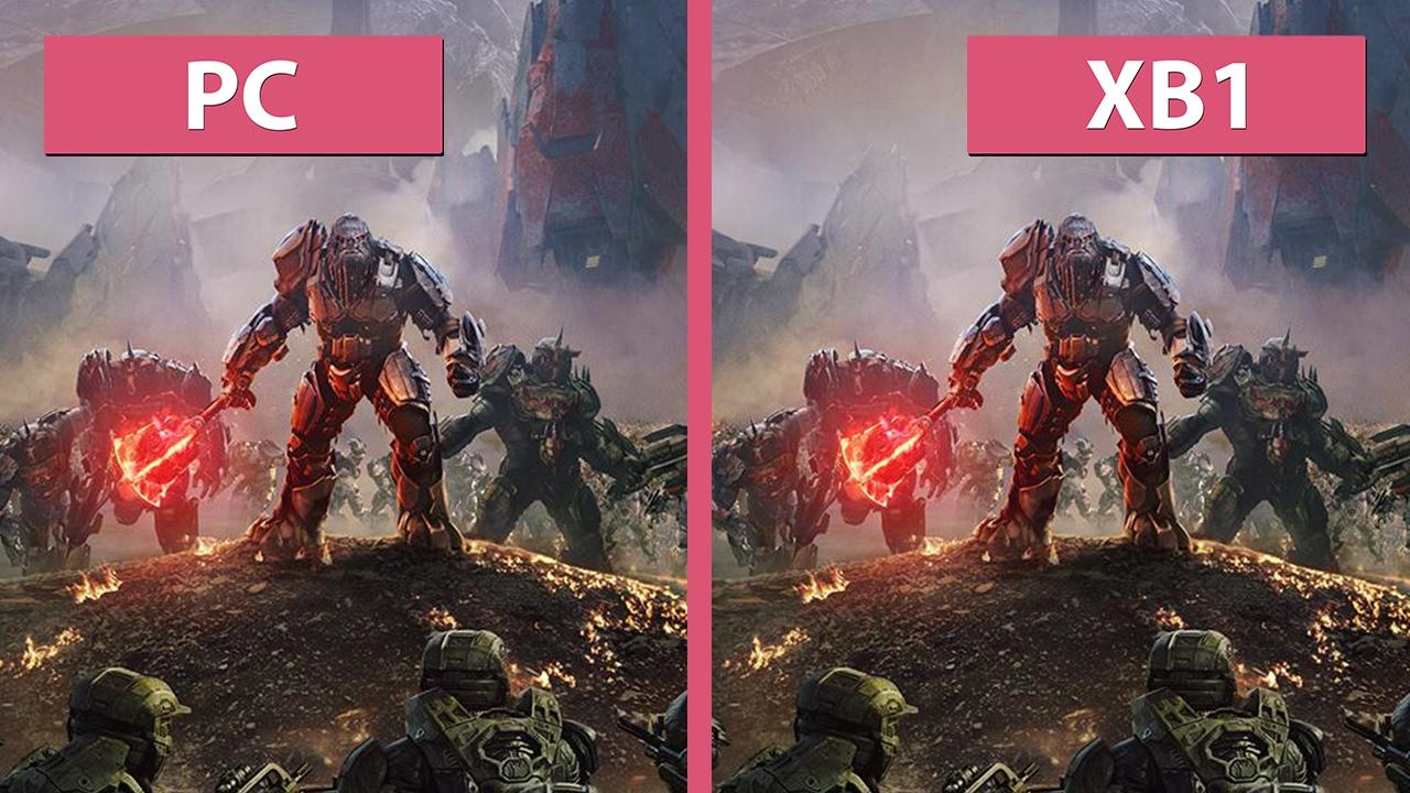 Halo Wars 2 – PC vs  Xbox One Graphics Comparison