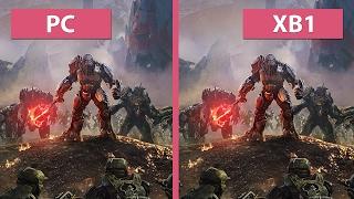 Halo Wars 2 – PC vs. Xbox One Graphics Comparison