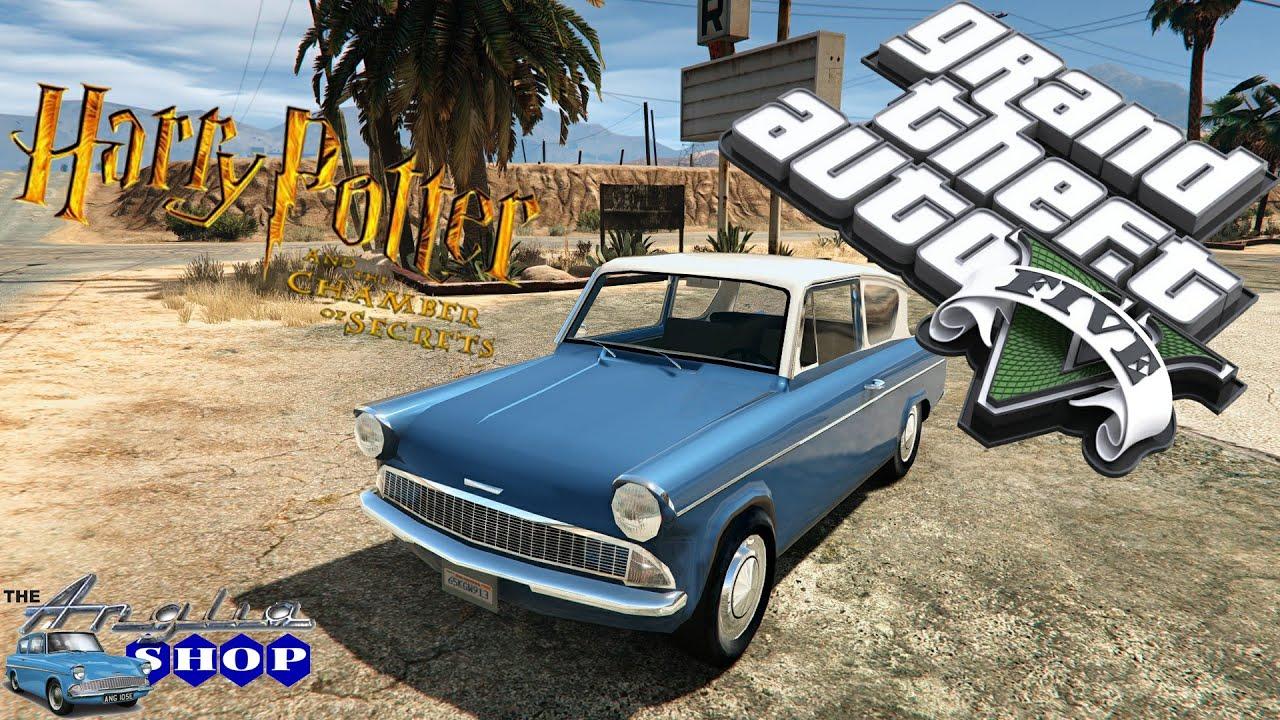 Ford Anglia Grand Theft Auto V Youtube