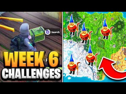 Fortnite Season 7 Week 6 Challenges GUIDE! How to Do Week 6 Challenges in Fortnite - Tutorial