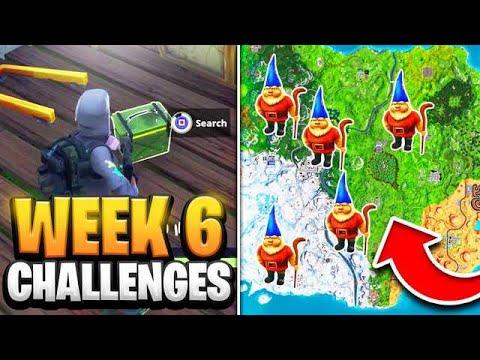 Fortnite Season 7 Week 6 Challenges GUIDE! How To Do Week 6 Challenges In Fortnite - Tutorial
